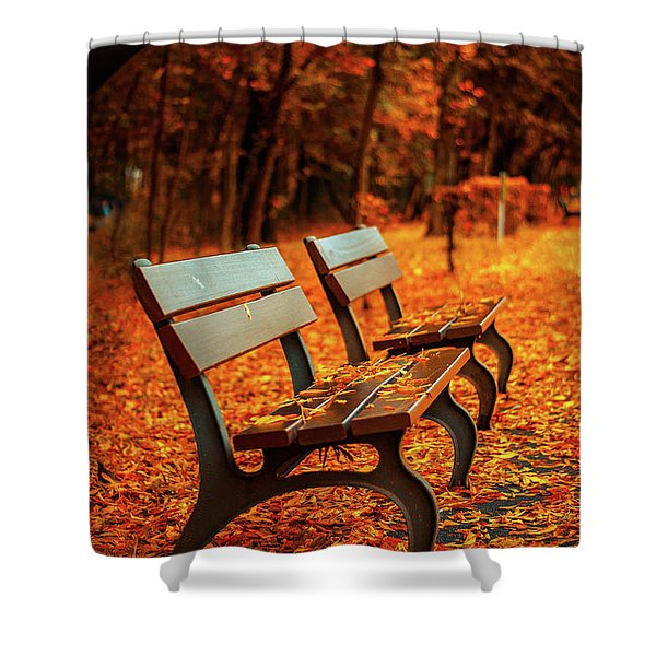 Autumn Moments Shower Curtain