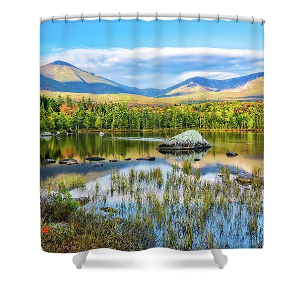Autumn Mt.katahdin Baxter Sp Maine Shower Curtain