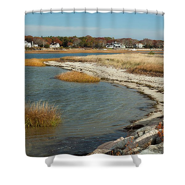Autumn On The Bass River II Shower Curtain