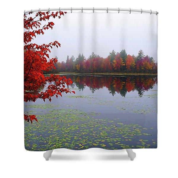 Autumn On The Bellamy Shower Curtain