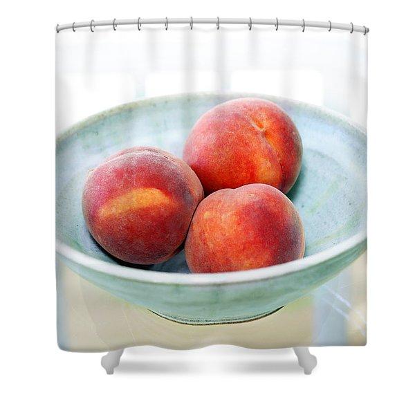 Autumn Peaches Shower Curtain