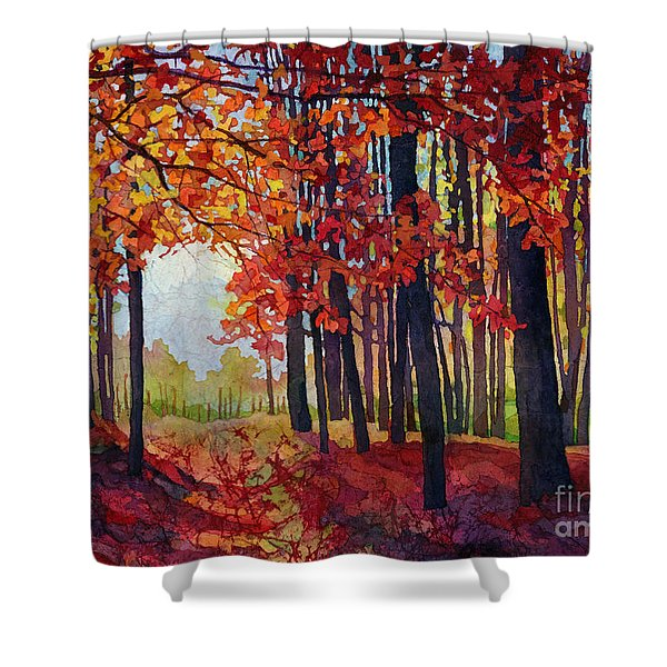 Autumn Rapture Shower Curtain