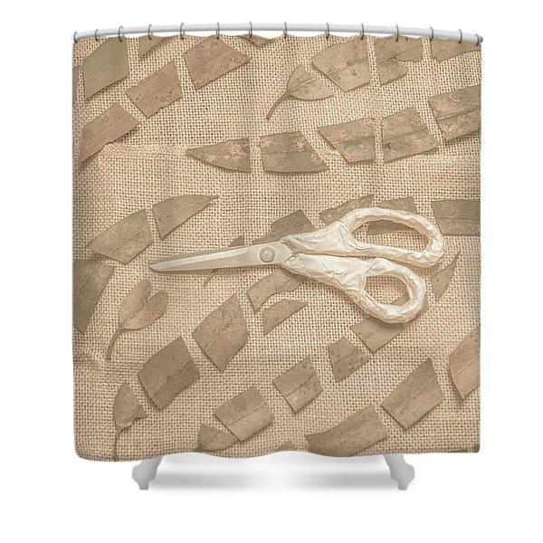 Autumn Refraction Shower Curtain