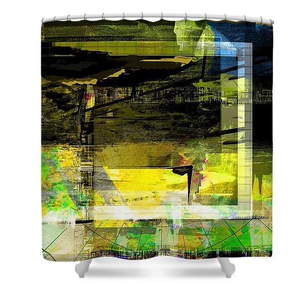 Autumn Shine Shower Curtain