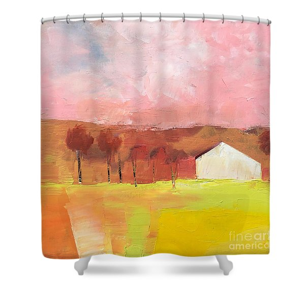 Autumn Stillness Shower Curtain