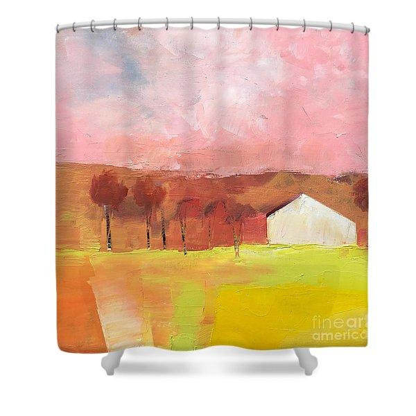 Autumn Stillness Shower Curtain