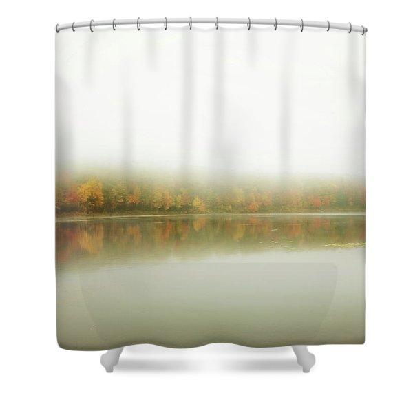 Autumn Symmetry Shower Curtain