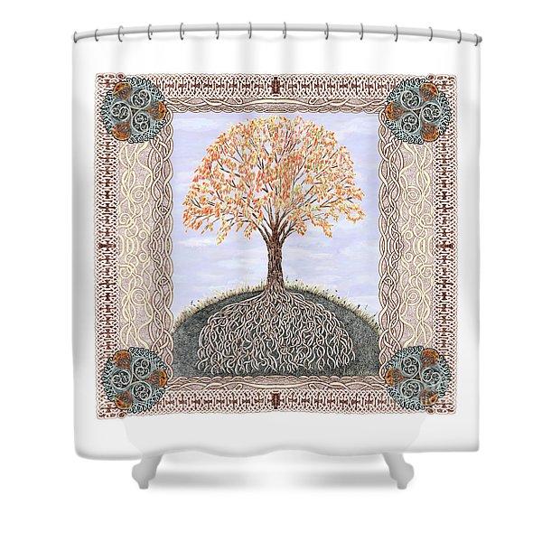 Autumn Tree Of Life Shower Curtain