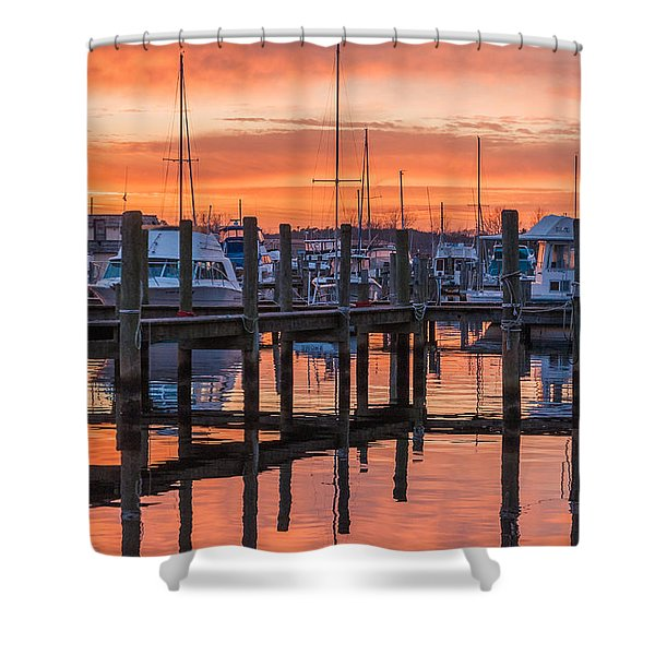 Autumnal Sky Shower Curtain