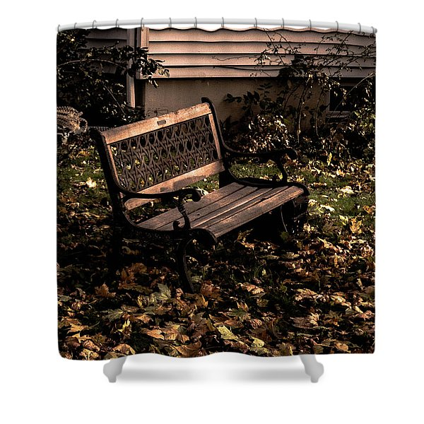 Autumnal Solace Shower Curtain