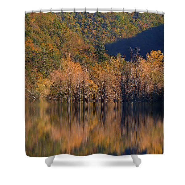 Autunno In Liguria - Autumn In Liguria 1 Shower Curtain