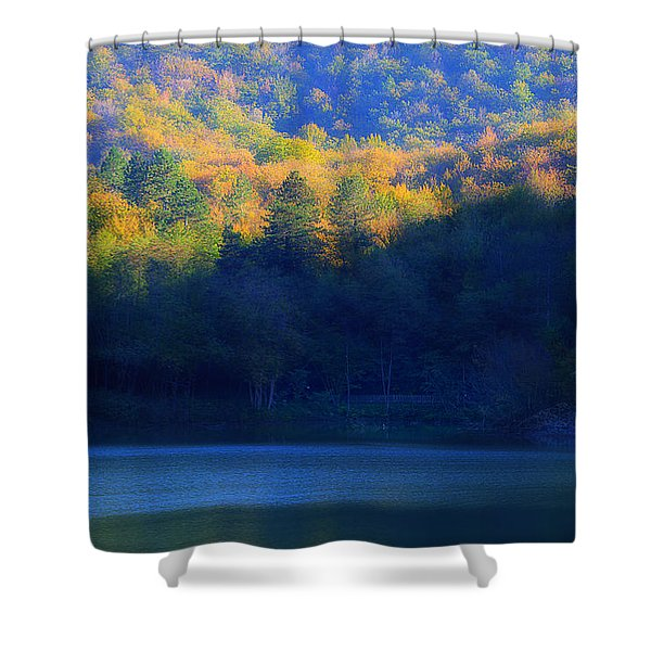 Autunno In Liguria - Autumn In Liguria 2 Shower Curtain