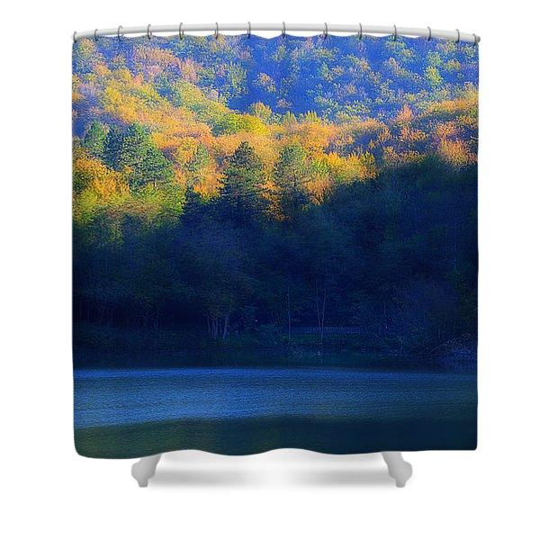 Autunno In Liguria - Autumn In Liguria 2 Shower Curtain