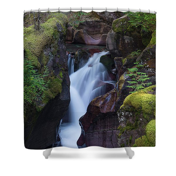 Avalanche Gorge 3 Shower Curtain