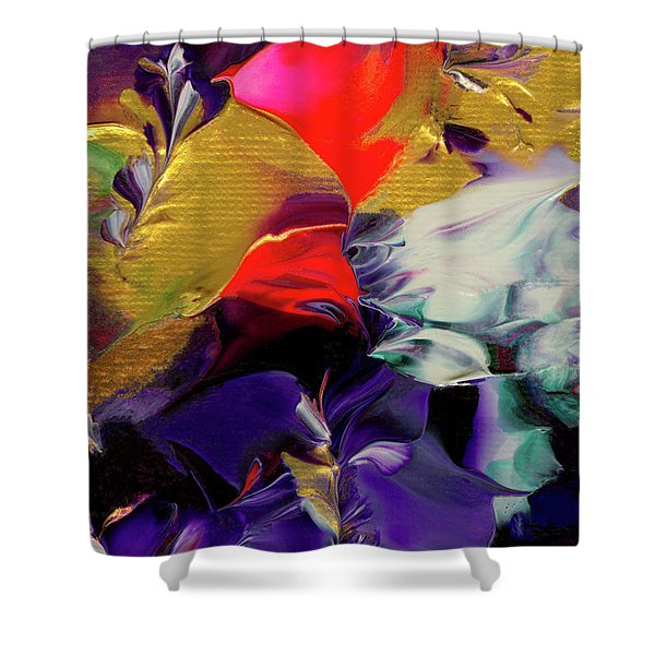 Avalanche Shower Curtain