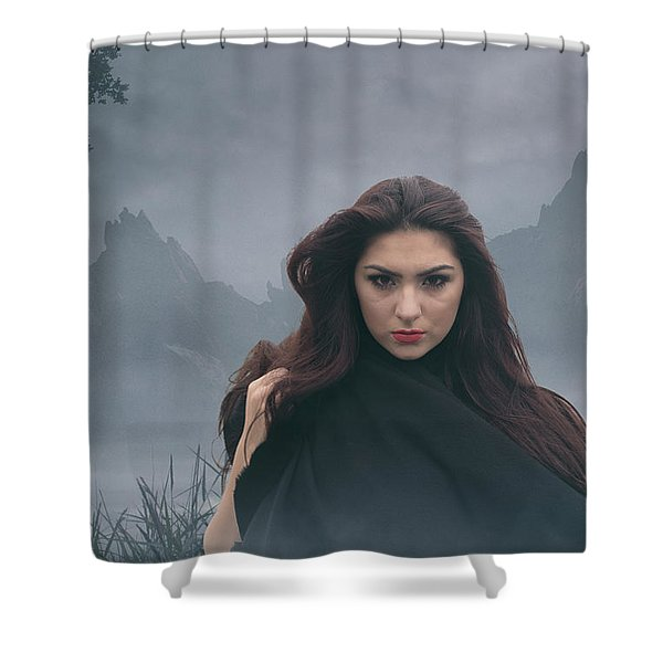 Avalon Part Two Shower Curtain