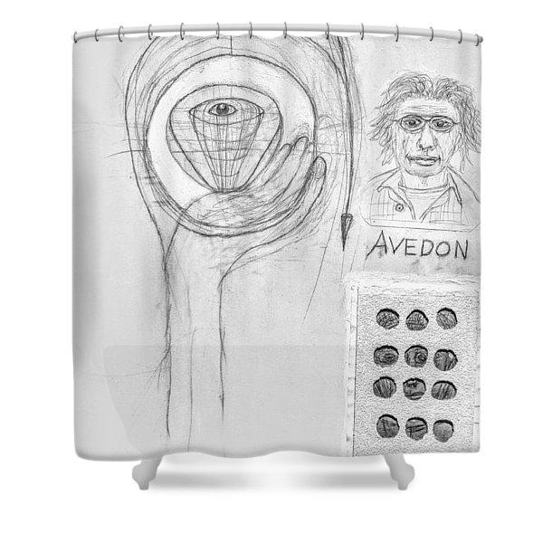 Avedon Master Of The Lens Shower Curtain
