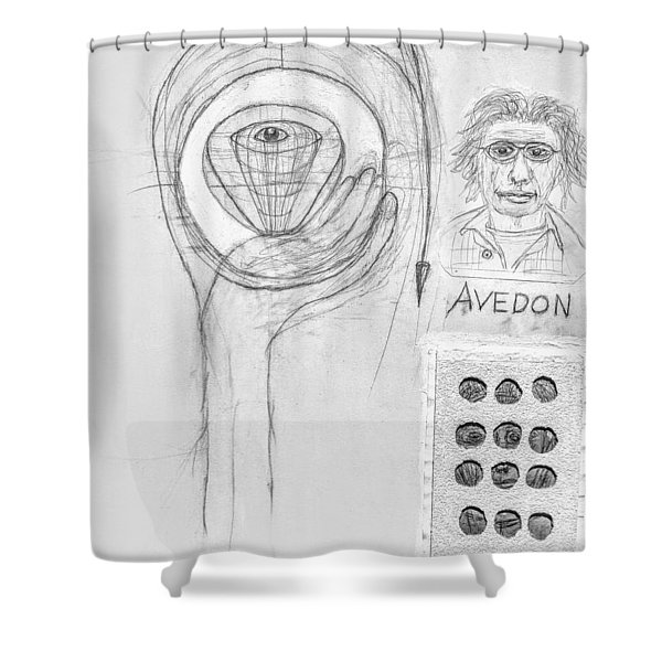 Avedon Master Of The Lens Shower Curtain