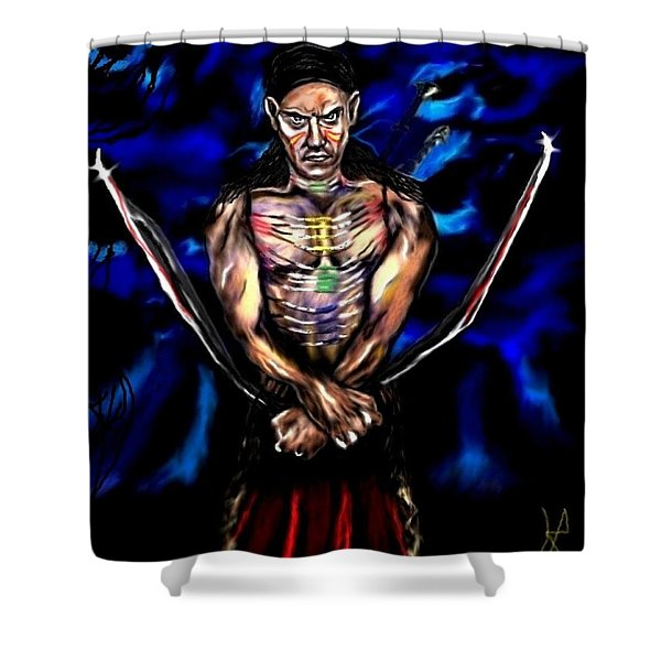 Avenging Angel For Ramond Shower Curtain
