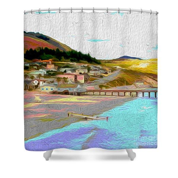 Avila Paddle Shower Curtain