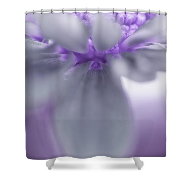 Shower Curtain featuring the photograph Awashed In Lavender by John De Bord