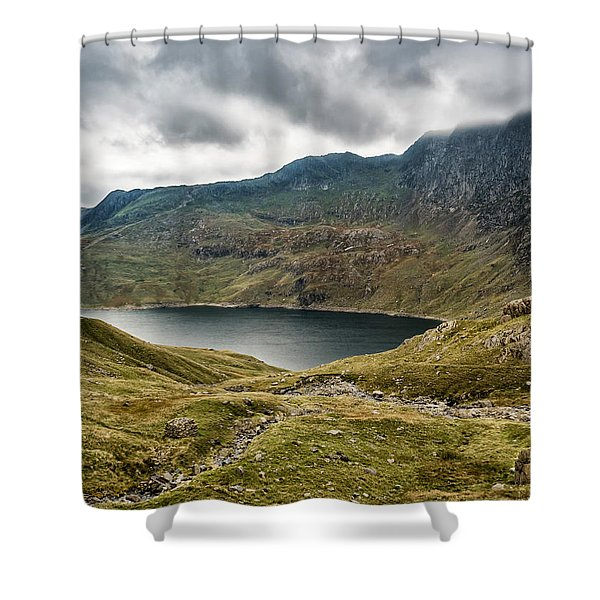 Shower Curtain featuring the photograph Awesome Hike by Nick Bywater
