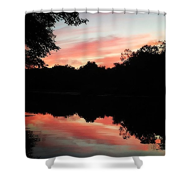 Awesome Sunset Shower Curtain
