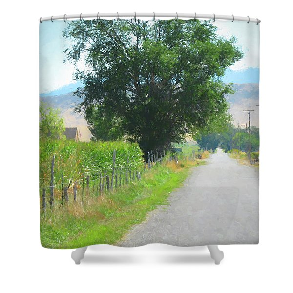 Axtell Utah Shower Curtain