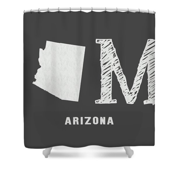 Az Home Shower Curtain