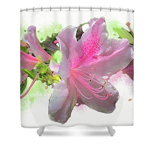 Azalea #2 Shower Curtain