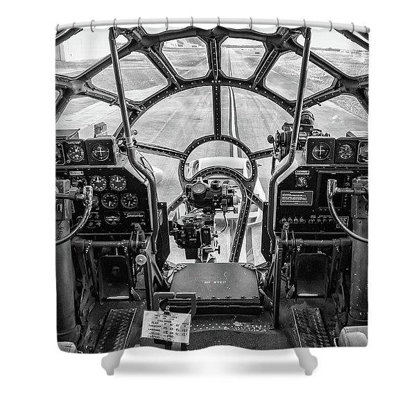 B-29 Fifi Shower Curtain