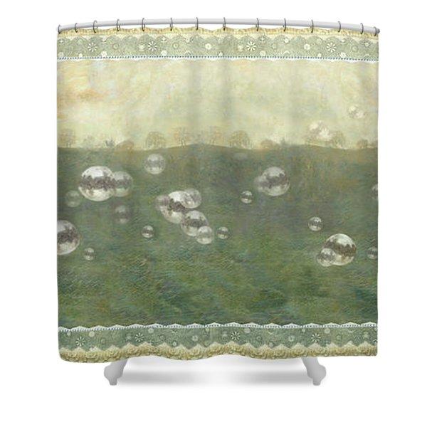 Baby Pops Bubbles Shower Curtain