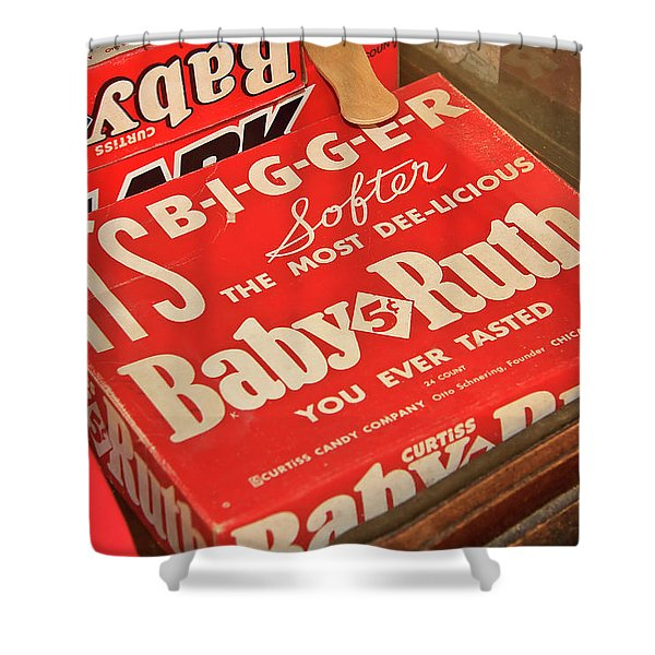 Baby Ruth Shower Curtain