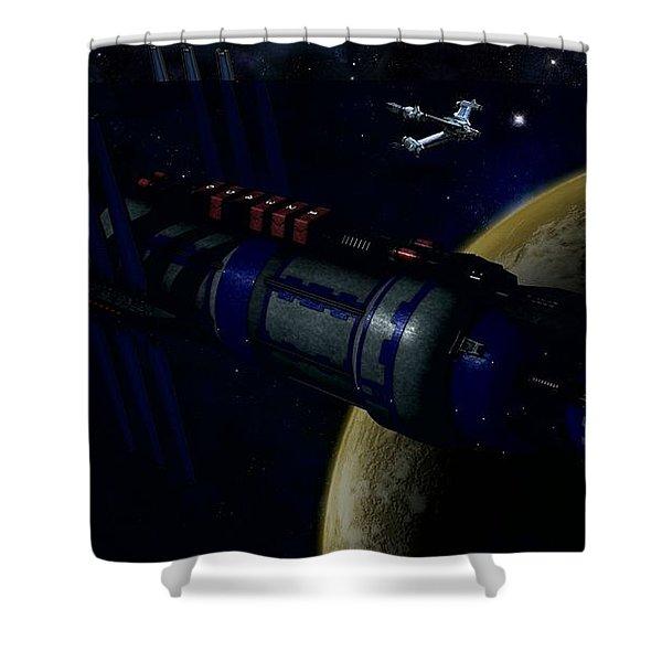 Babylon 5 Shower Curtain