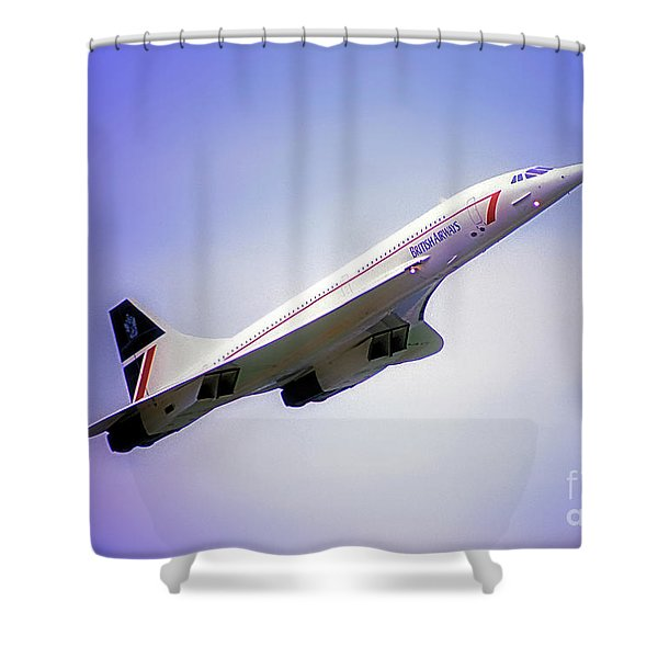 Bac Concorde  Shower Curtain