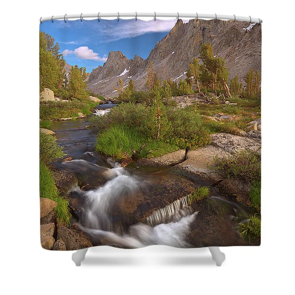 Back Country Creek Shower Curtain