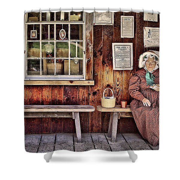 Back In The Days Shower Curtain
