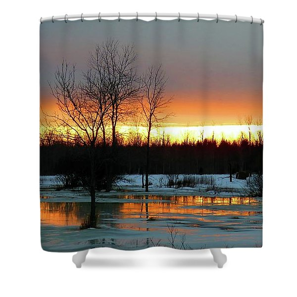 Back Roads Of Clayton Shower Curtain