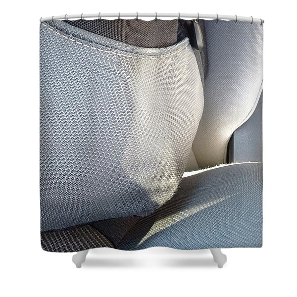 Backpacklines Shower Curtain
