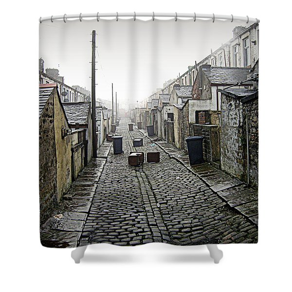 Backstreet Shower Curtain