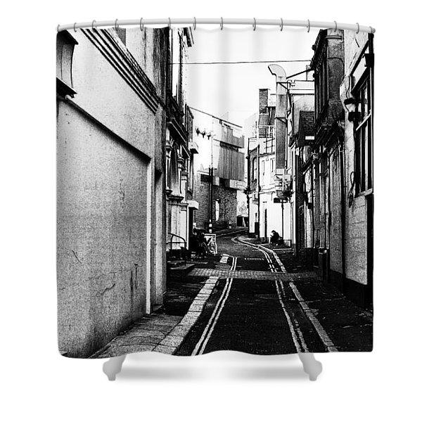Backstreet Shower Curtain