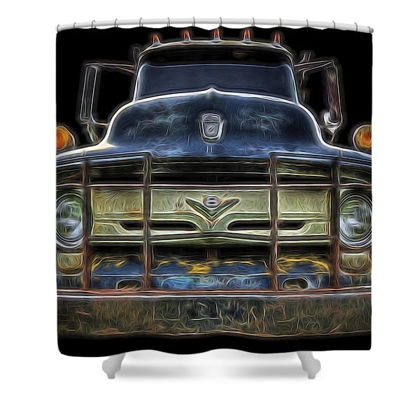 Bad 56 Ford Shower Curtain