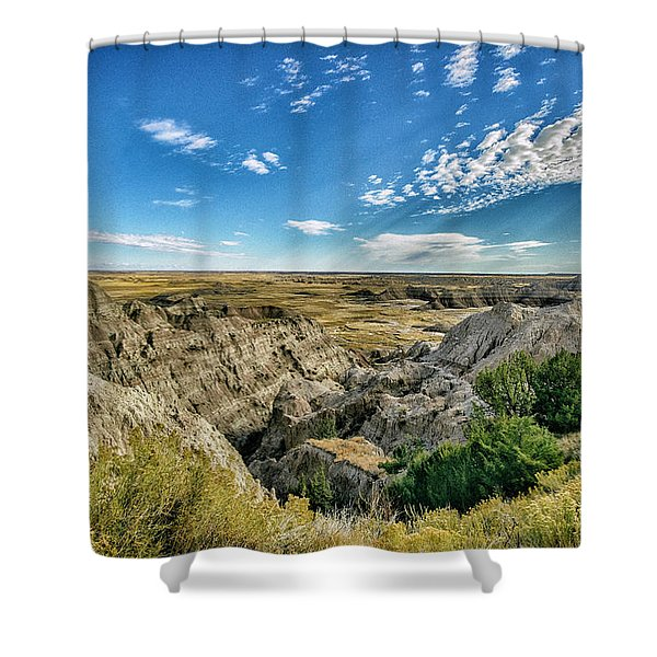 Bad Lands South Dakota.... Shower Curtain