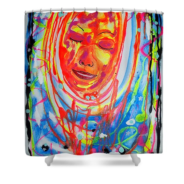 Baddreamgirl Shower Curtain