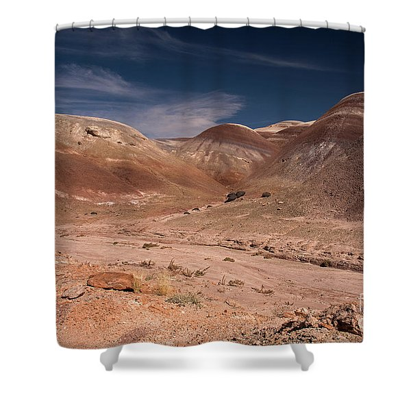 Badlands Near Hanksville Utah Shower Curtain
