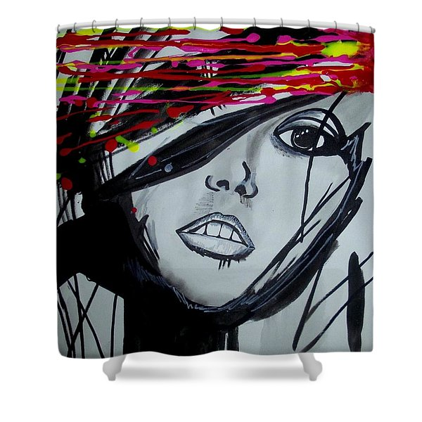 Badview Shower Curtain