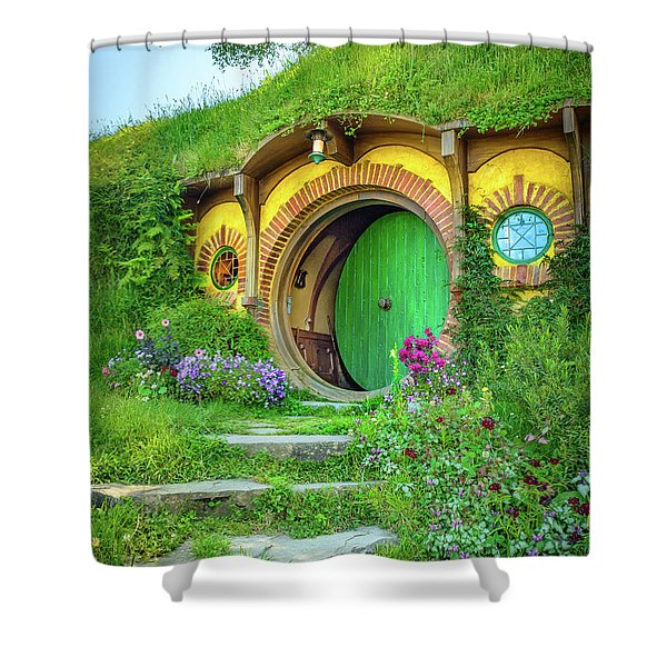 Bag End Shower Curtain