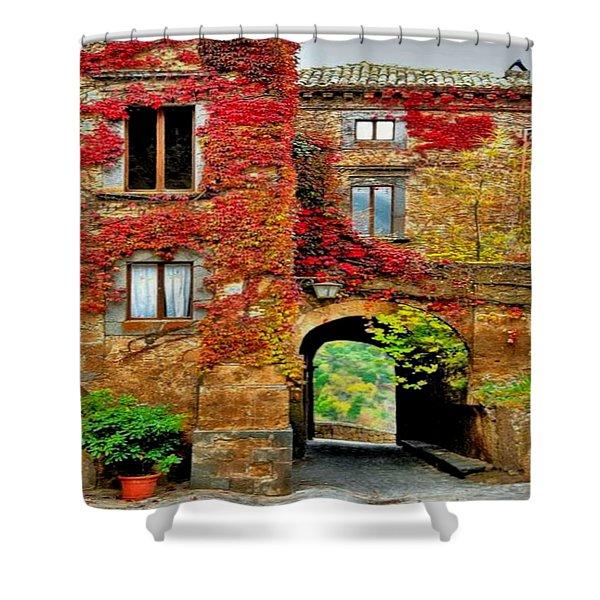 Bagnoregio Italy Shower Curtain
