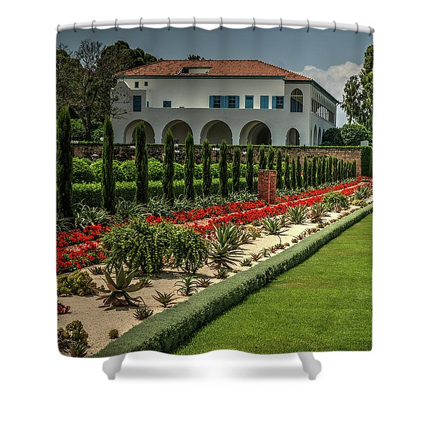 Baha'i Gardens 1 Shower Curtain