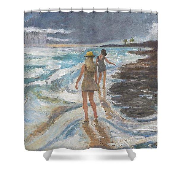 Bahia Honda Beach Shower Curtain